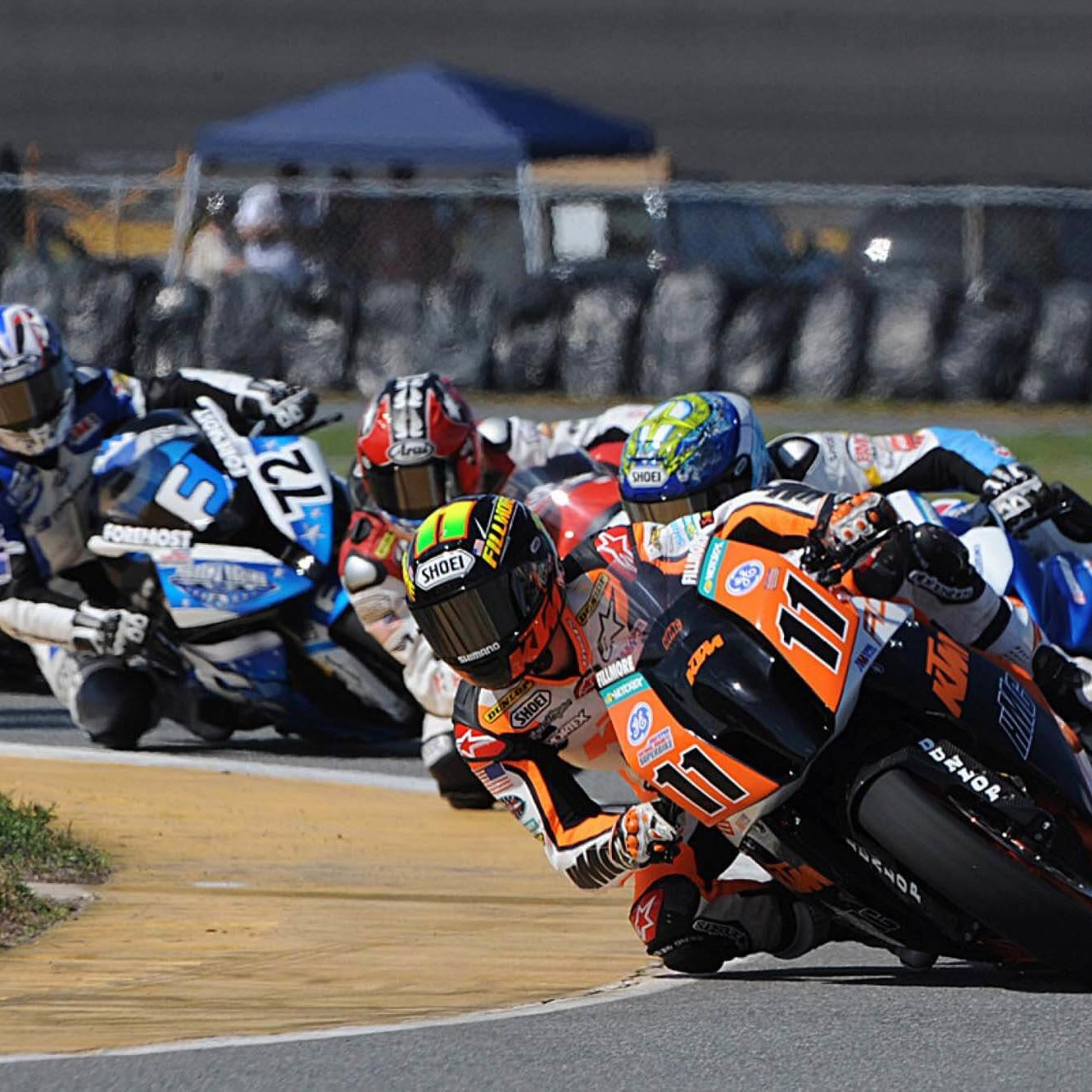 Motorcycle Racing Image